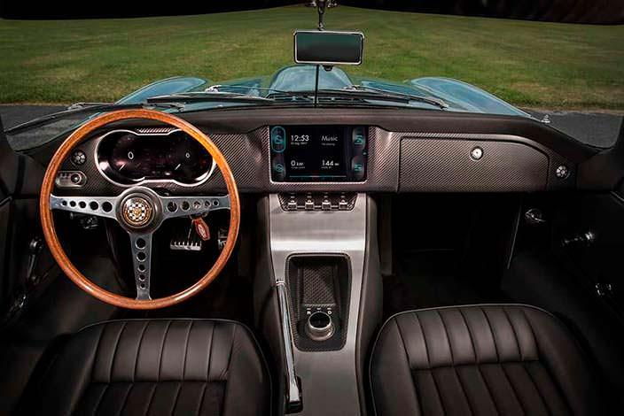 Фото салона Jaguar E-Type Zero