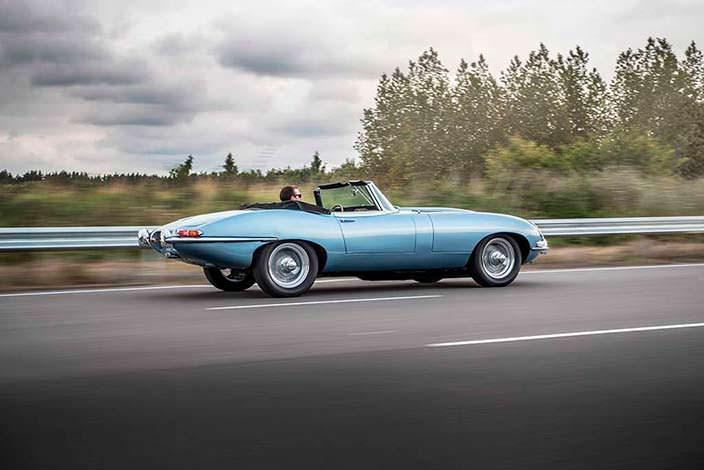 Классический электрокар Jaguar E-Type Zero: запас хода 270 км