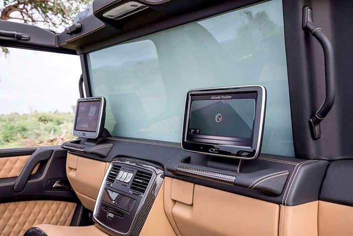 Перегородка для задних пассажиров Mercedes-Maybach G650 Landaulet