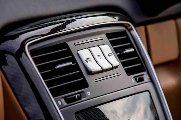 Блок климат-контроля для задних пассажиров Mercedes-Maybach G650 Landaulet