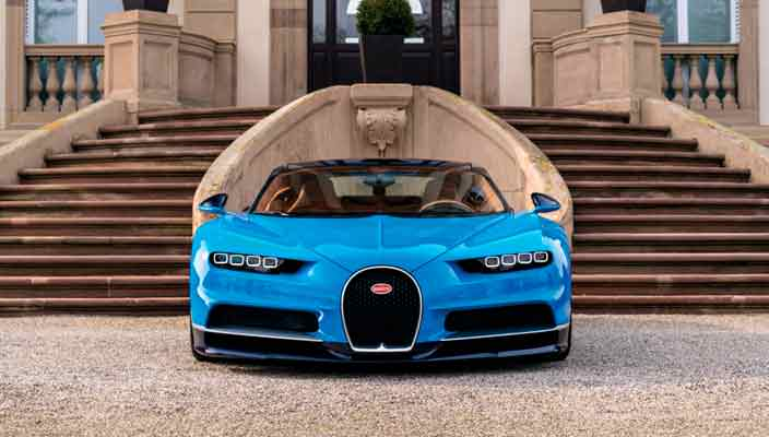 Б/у Bugatti Chiron продали на €1 млн дороже нового   Цена