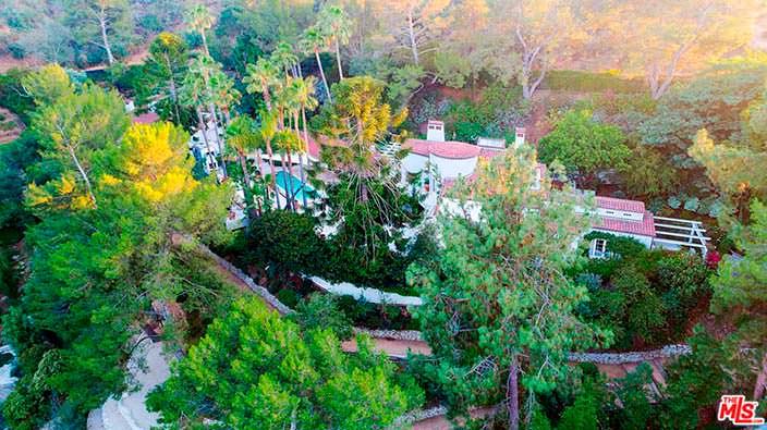 Дом Кэти Перри на холмах в Голливуде