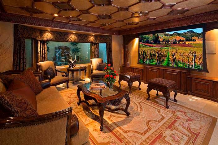 Элитный дизайн дома Крис Дженнер в Лос-Анджелесе