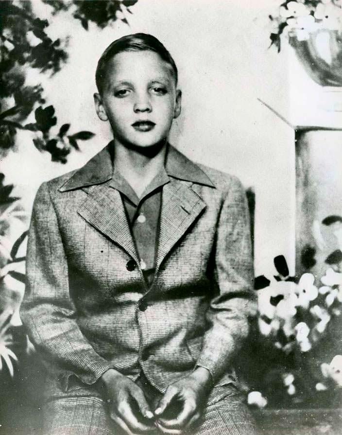 Фото | Элвис Пресли в детстве