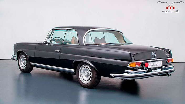 Ретро Mercedes-Benz W111 M-Coupe