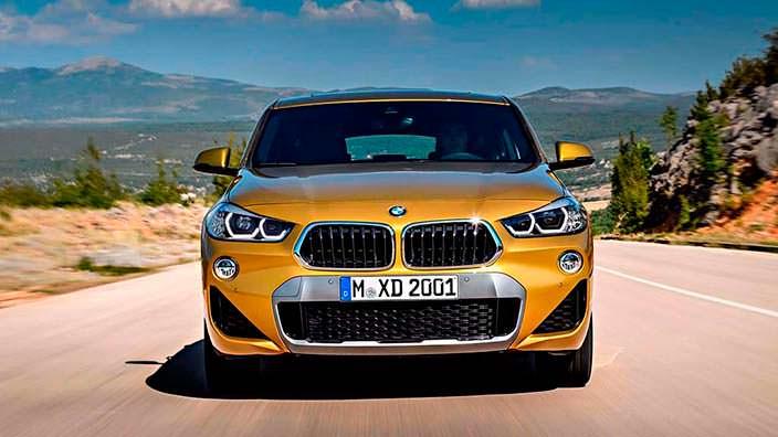 Новая BMW X2 2018
