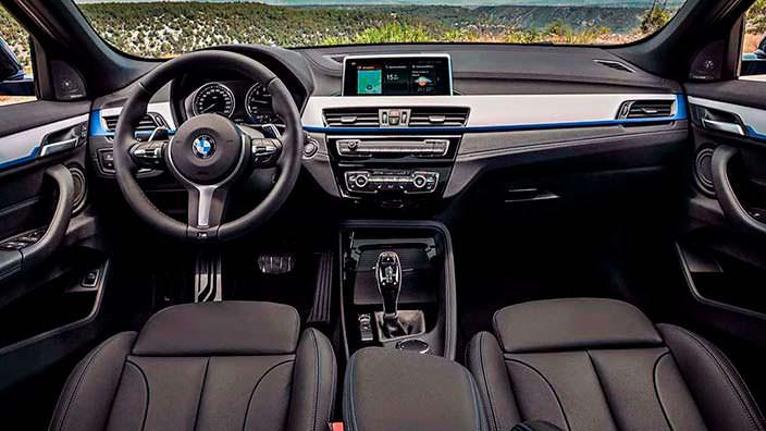 Фото салона BMW X2 2018