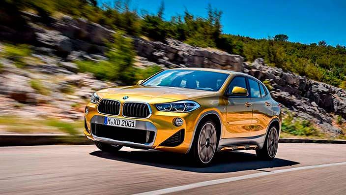 Новый кроссовер BMW X2 2018