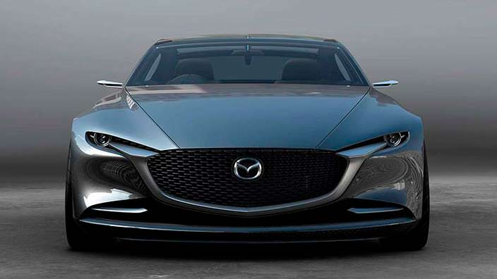 Элегантная Mazda Vision Coupe Concept
