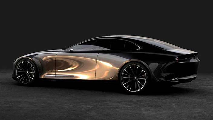 Новая Mazda Vision Coupe Concept