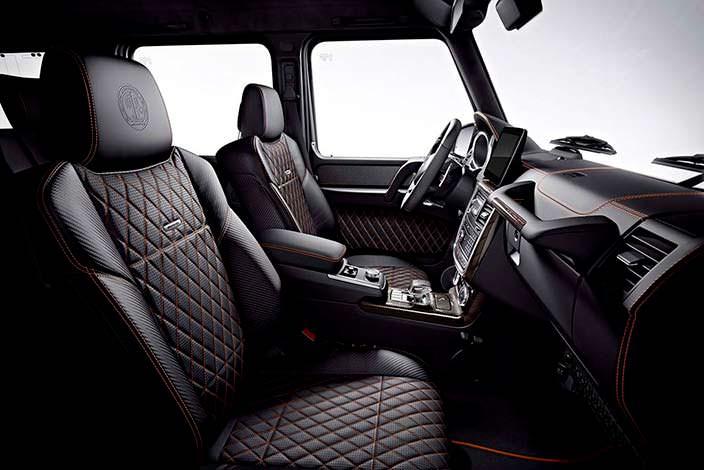 Кожаный салон Mercedes-AMG G65 Final Edition