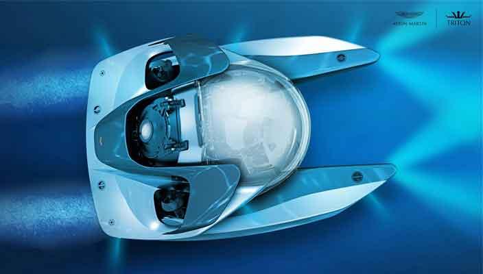 Представлена мини-подлодка Aston Martin за $4 млн   фото