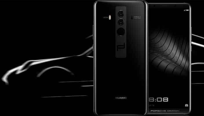 В Porsche Design создали спецверсию смартфона Huawei Mate 10