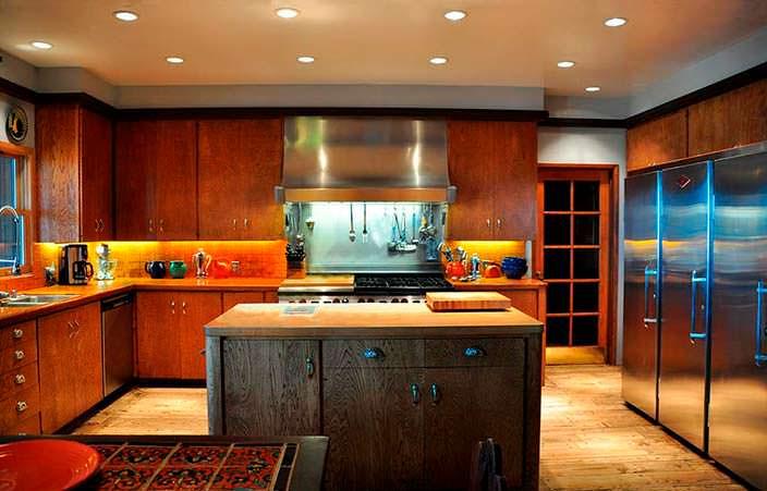 Дизайн кухни в доме Фрэнка Синатры