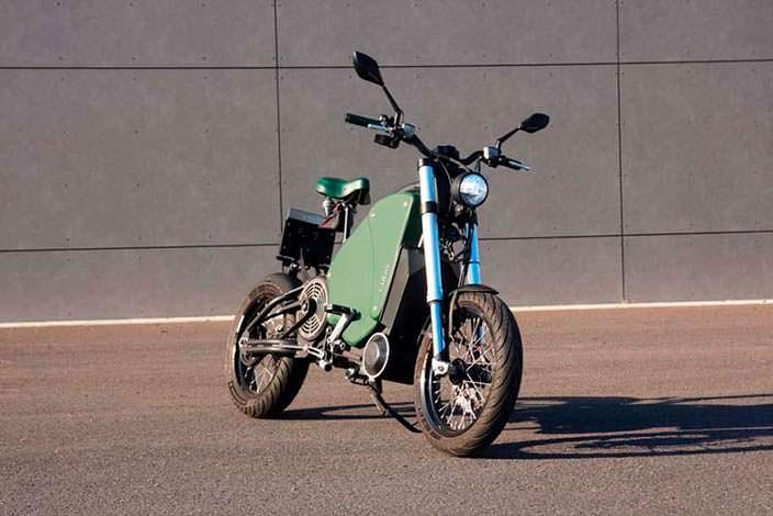 Педальный мотоцикл The Gulas PI1S