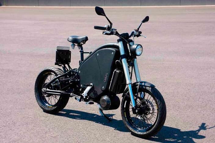 Педальный мотоцикл The Gulas PI1S: запас хода до 200 км