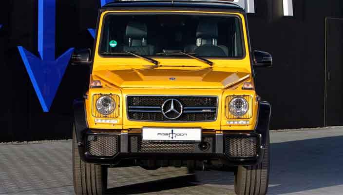 Тюнинг Mercedes-AMG G63 до 850-сил от ателье Posaidon   фото
