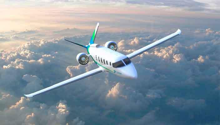 Zunum Aero выпустит гибридный бизнес-джет к 2022 году | фото