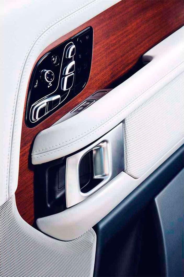 Отделка дверей Range Rover SAVutobiography