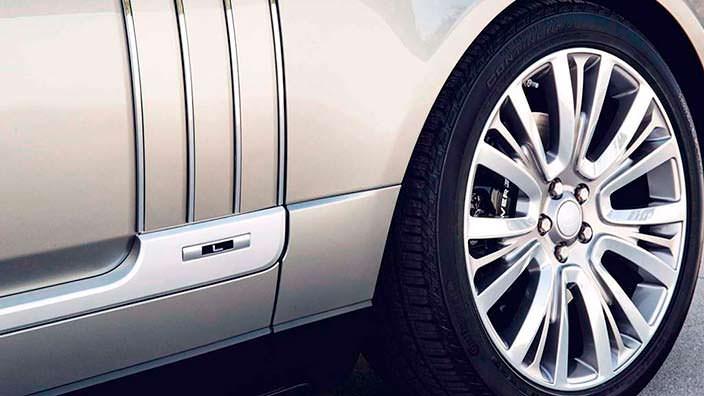Большие колесные диски Range Rover SAVutobiography