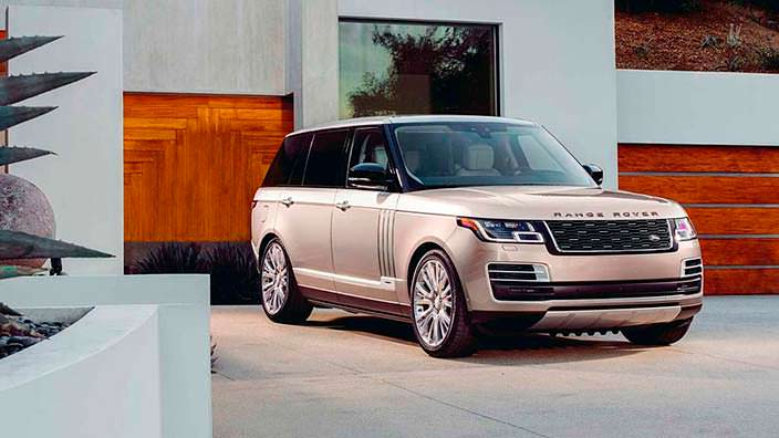 Самый дорогой внедорожник Range Rover SAVutobiography