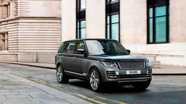 Самый шикарный внедорожник Range Rover SAVutobiography