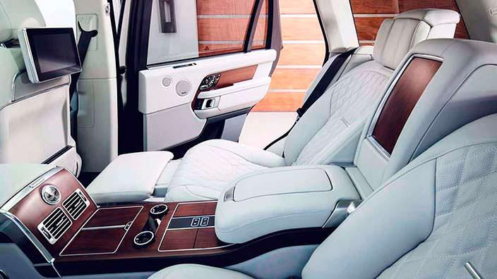 Сиденья как в бизнес-классе Range Rover SAVutobiography