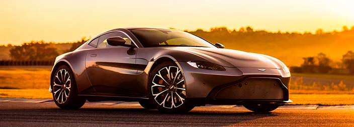 Супер-купе Aston Martin Vantage