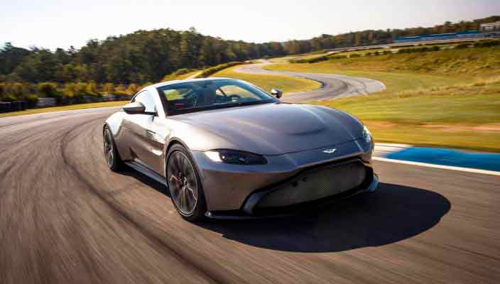 Новый спорткар Aston Martin Vantage официально | фото