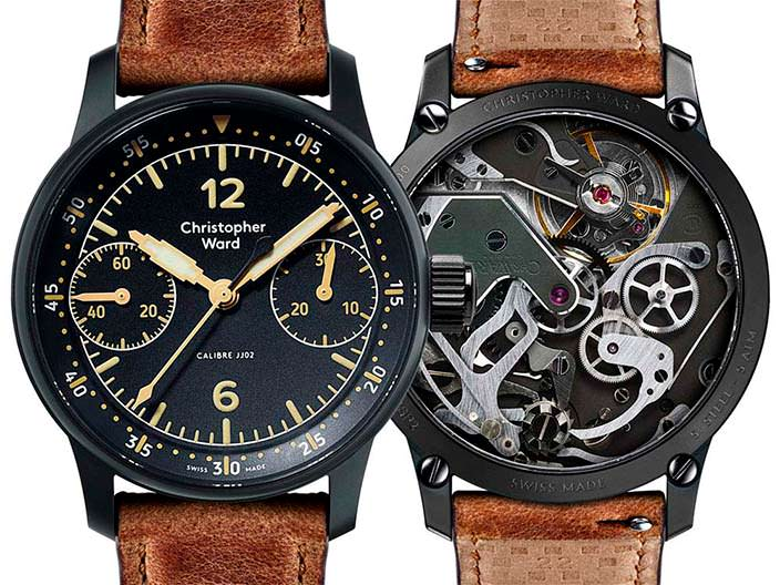 Авиа-часы Christopher Ward C9 Me 109 Single Pusher