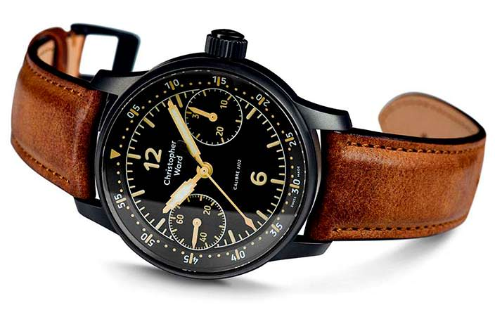 Коллекционные часы Christopher Ward C9 Me 109 Single Pusher