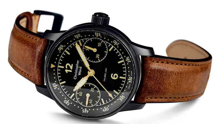 Christopher Ward выпустил авиа-часы C9 Me 109 Single Pusher