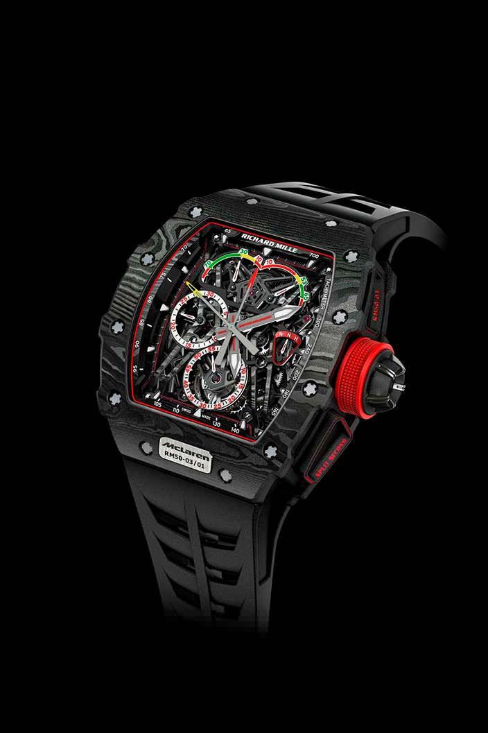 Часы Richard Mille за $1 млн