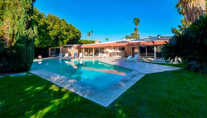 Дом Элвиса Пресли в Палм-Спрингс продается | фото и цена