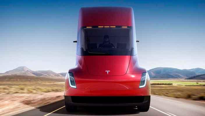 Tesla выпустила электрический магистральный тягач Semi | фото