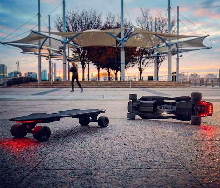 Электрический скейтборд eBoard: скорость до 32 км/ч