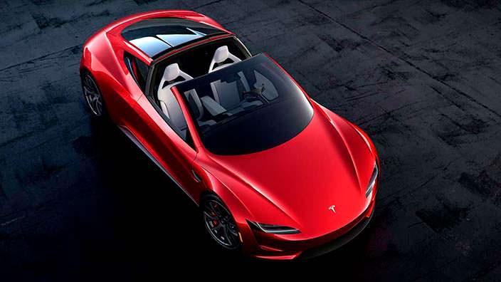 Новый Tesla Roadster со съемной жесткой крышей