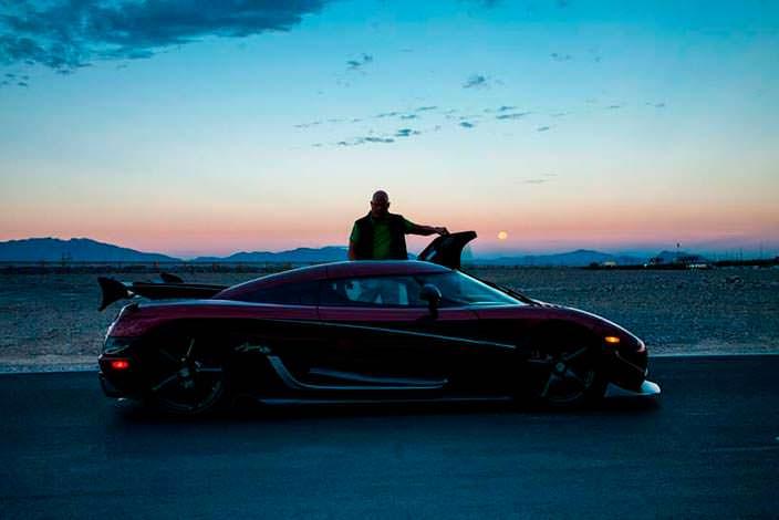 Кристиан фон Кёнигсегг и гиперкар Koenigsegg Agera RS