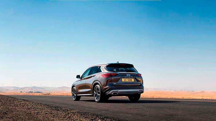 Новый Infiniti QX50. Философия дизайна Powerful Elegance