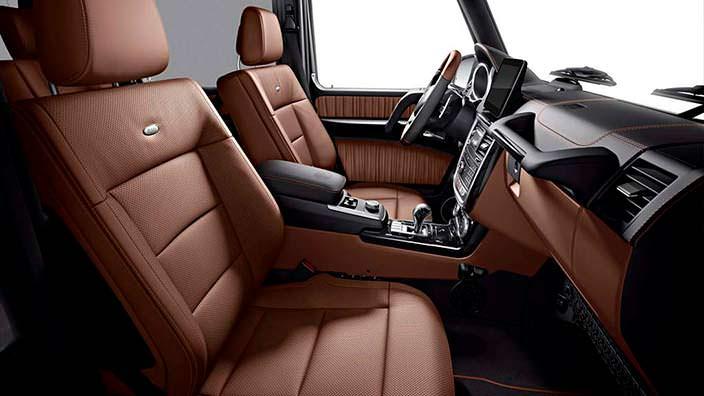 Кожаный салон Mercedes G350d Limited Edition