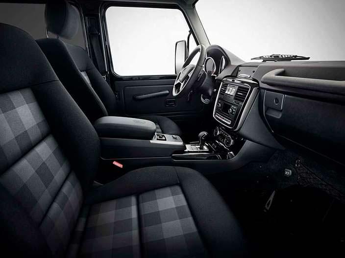 Тканевый салон Mercedes G350d Professional Limited Edition