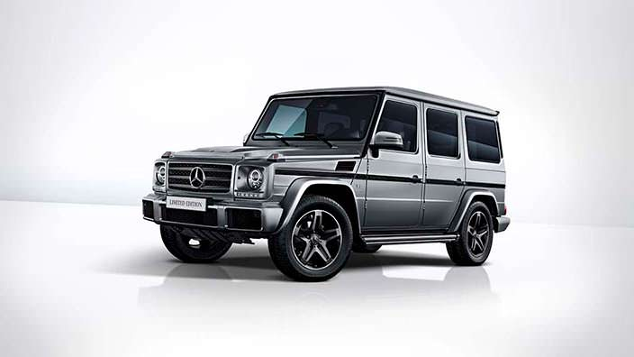 Прощальный Mercedes-Benz G500 Limited Edition