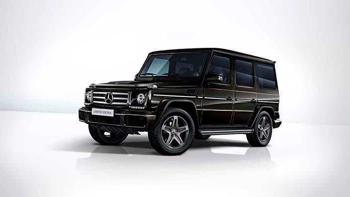 Внедорожник Mercedes-Benz G350d Limited Edition