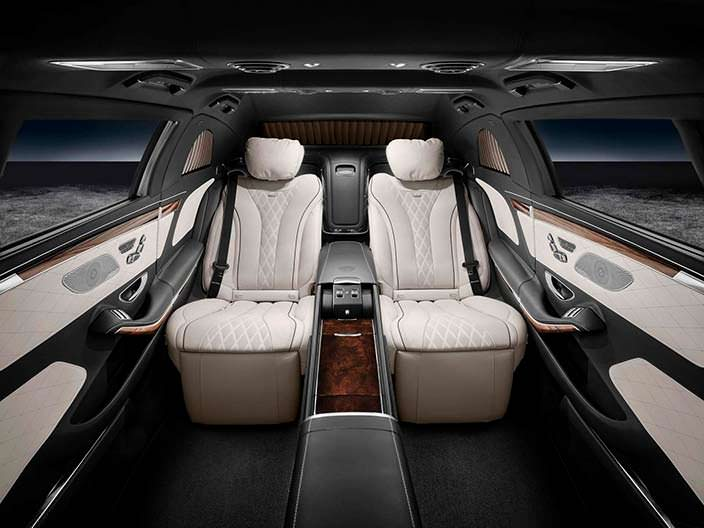 Салон Mercedes-Maybach Pullman S600