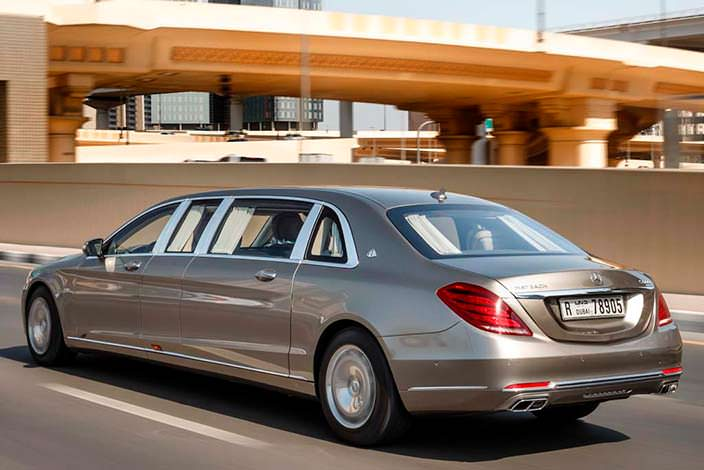 Лимузин Mercedes-Maybach Pullman S600