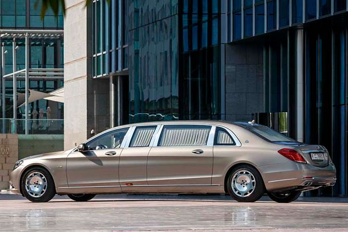 Фото | Mercedes-Maybach Pullman S600
