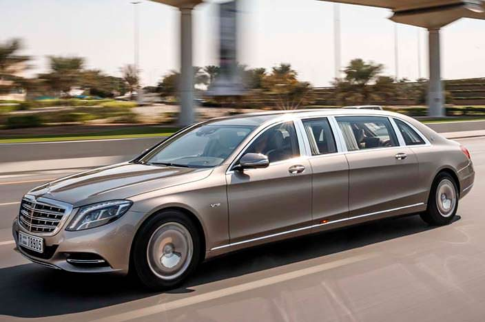 Mercedes-Maybach Pullman S600
