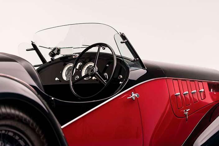 Салон Alfa Romeo 6C 2500 SS Spider 1942 года выпуска