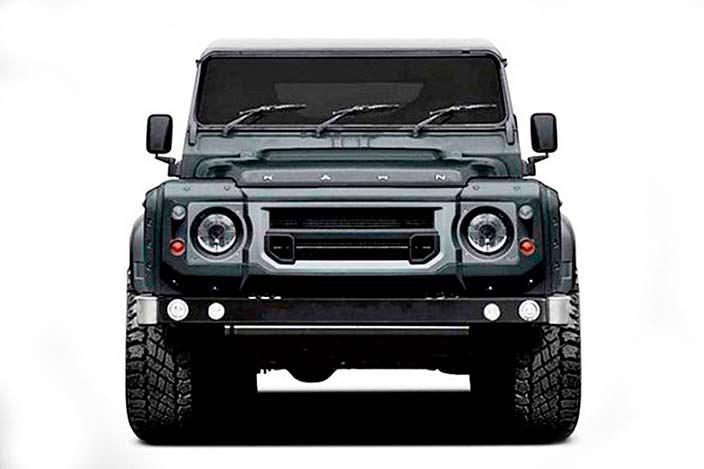 ШестиколесныйLand Rover Defender. Тюнинг от Kahn Design