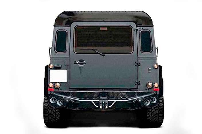 Шестиколесныйвнедорожник Land Rover Defender от Kahn Design